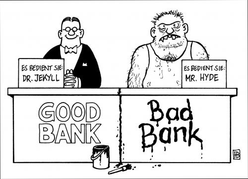 good and bad bank humour