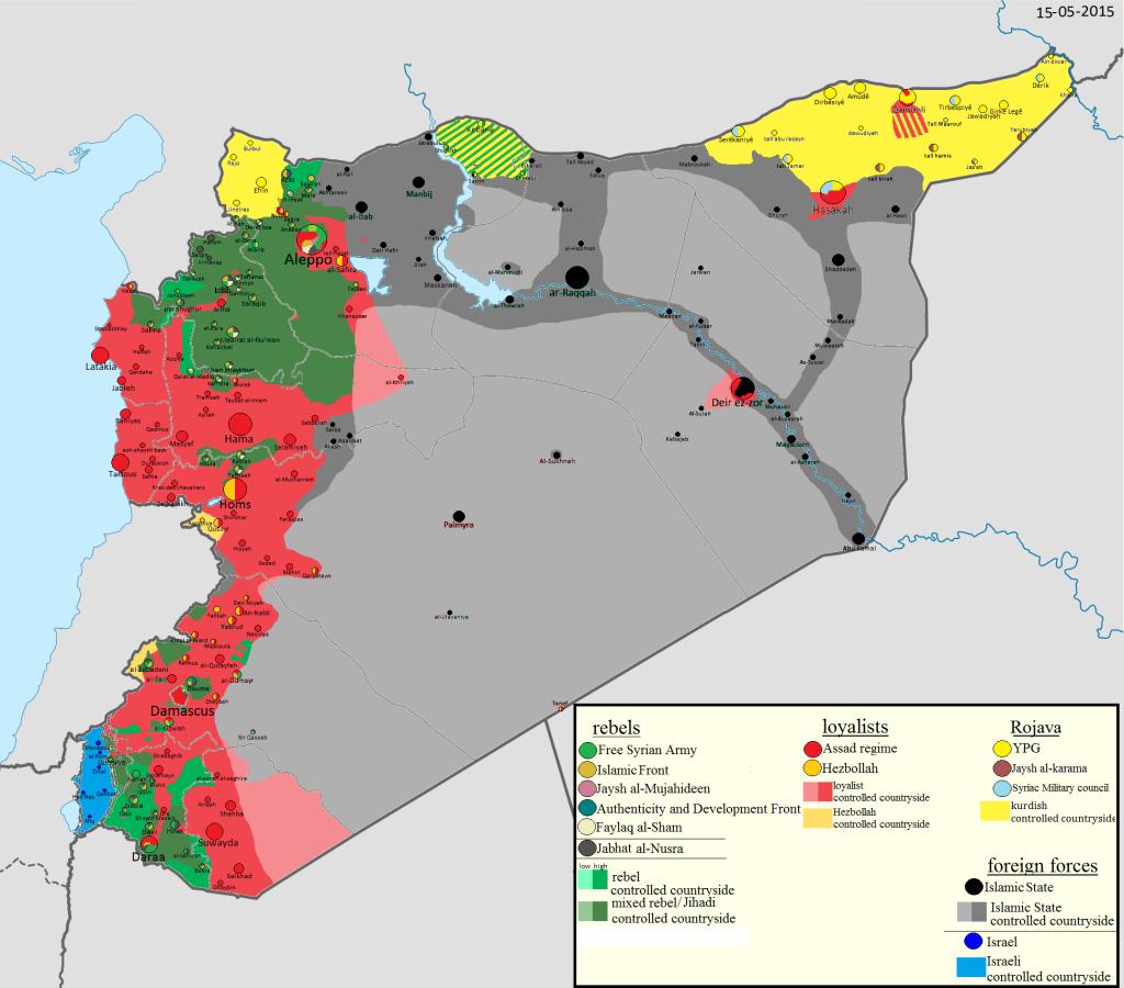 MAPPA-SIRIA-ISIS-GIUGNO-2015-JUNE-2015