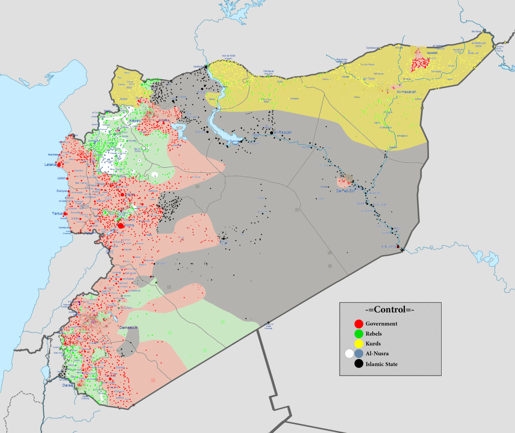 Siria, 12 Marzo 2016