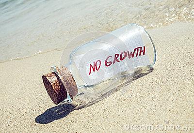 bottle-message-no-growth-creative-business-concept-46163867