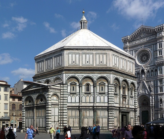 Il battistero di firenze