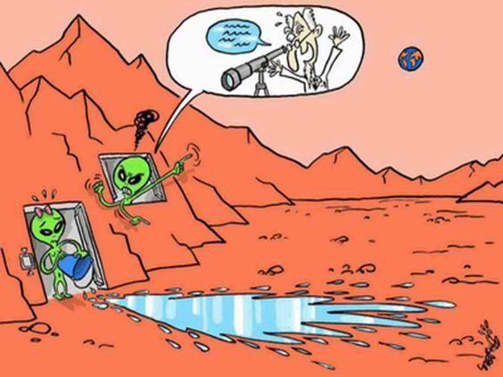 mars gullies mistery resolved