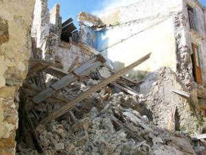 casa crollata